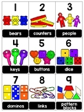 numeral cards 1 to 20: set 17
