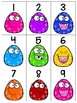 numeral cards 1 to 20: bundle 18