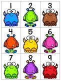 numeral cards 1 to 20: set 18