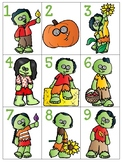 numeral cards 1 to 20: set 19