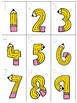 numeral cards 1 to 20: bundle 9