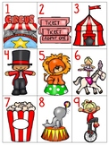 numeral cards 1 to 20: set 9