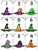numeral cards 1 to 20: bundle 11_halloween theme + bonus numeral practice pages