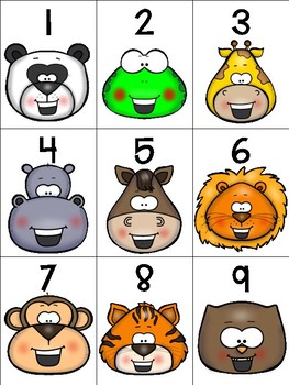 numeral cards to 1 to 20: bundle 8 + bonus rainbow writing pages