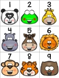 numeral cards 1 to 20: set 8 + bonus rainbow writing pages