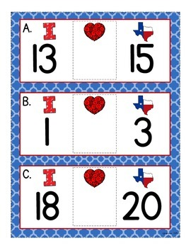 "numeral sequence_RWR_i ""heart"" texas theme"