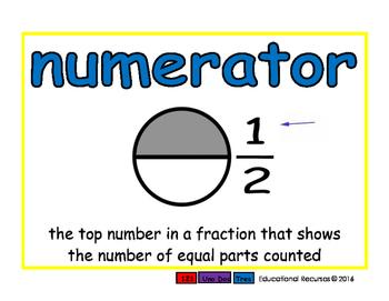 numerator/numerador meas 2-way blue/rojo