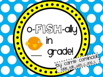 o-FISH-ally in _____ Grade Tags