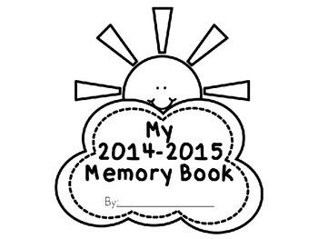 No-Prep Memory Book