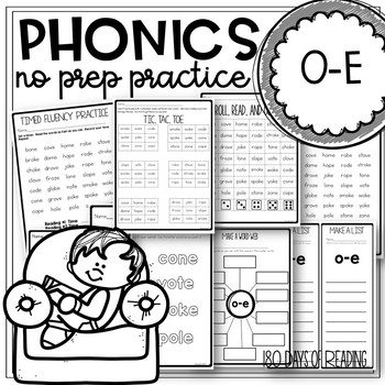 o-e Practice Pages