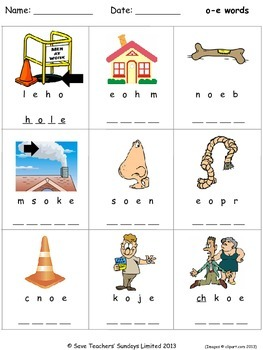 O E Phonics Lesson Plans Worksheets And Other Teaching Resources