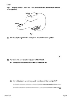 o level physics electricity questions with answers