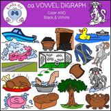 oa Vowel Digraph Clip Art