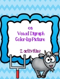oa Vowel Digraph Color-by-Picture