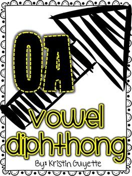 OA Vowel Diphthong