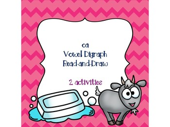 oa Vowel Digraph Read-and-Draw