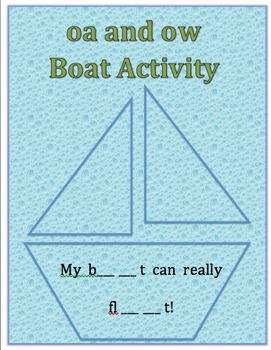 oa and ow Boat Activity