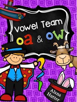 oa, ow vowel team