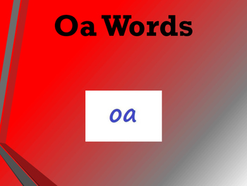 oa words simple text reader