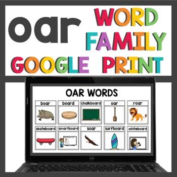 oar Word Work