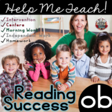ob Word Family: Intervention, Homework, Morning Work, Centers,