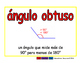 obtuse angle/angulo obtuso geom 2-way blue/rojo