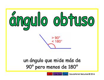 obtuse angle/angulo obtuso geom 2-way blue/verde