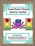 ocean beach surf themed stoplight behavior management system
