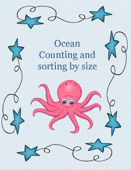 ocean preschool counting and sorting by size