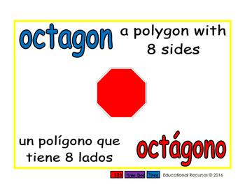 octagon/octagono geom 1-way blue/rojo