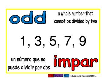 odd/impar prim 1-way blue/rojo