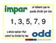 odd/impar prim 1-way blue/verde