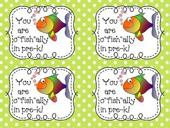 """o""""fish""""ally in ______ grade!"""