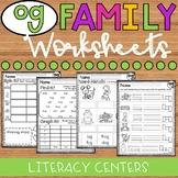 OG Word Family Worksheets - OG Family Worksheets - OG Worksheets