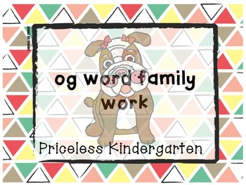 """og"" word family work"