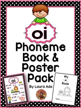 oi Phonogram Book & Poster Pack with Phonics Practice