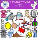 oi Sounds / Words Clip Art