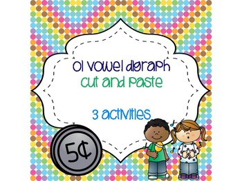 oi Vowel Digraph Cut and Paste