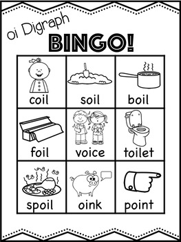 oi Vowel Digraph Mega Bundle! [11 no-prep games and activities]