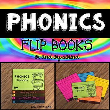 Journeys Two of Everything | Dipthongs oi and oy | Phonics Flip Book