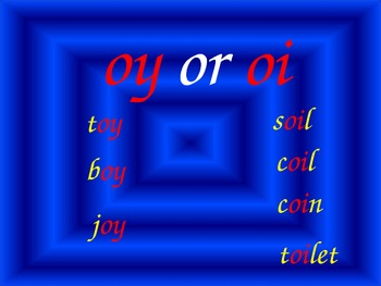oi or oy powerpoint or flipchart