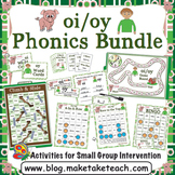 oi oy Activities - The Big Phonics Bundle
