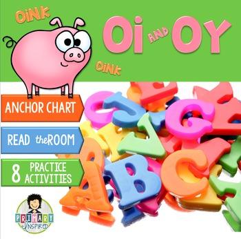 oi, oy ~Phonics~ Activity Pack