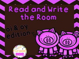 oi & oy Read and Write the Room
