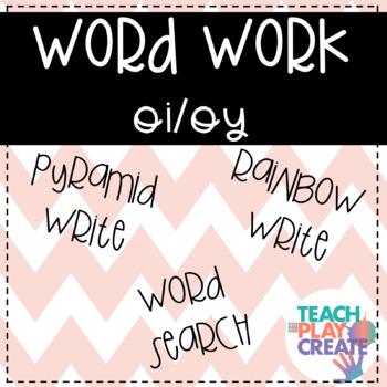 oi/oy Word Work