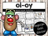 oi oy Word Work Activities