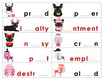 oi/oy ou/ow Diphthong Sorting Activity and Game