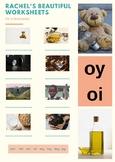 oi & oy phonics worksheet