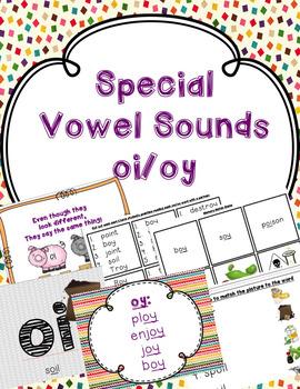 oi oy special vowel sounds