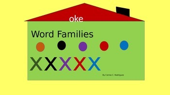 """oke""  Word family"